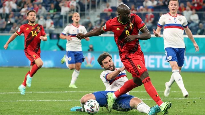 Бельгия разгромила Россию в стартовом матче Евро-2020: 10 ярких кадров