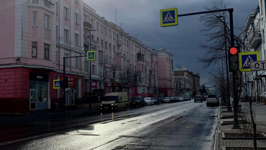 Рабочая неделя в Красноярске будет прохладной и дождливой