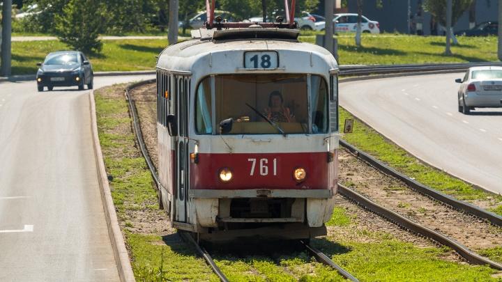 В Самаре временно отменят трамвайный маршрут, еще один — сократят