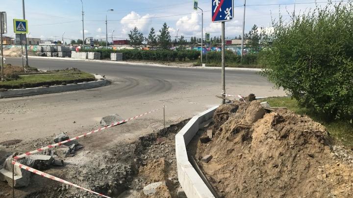 Улицу Быстринскую в Сургуте отремонтируют впервые за 20 лет