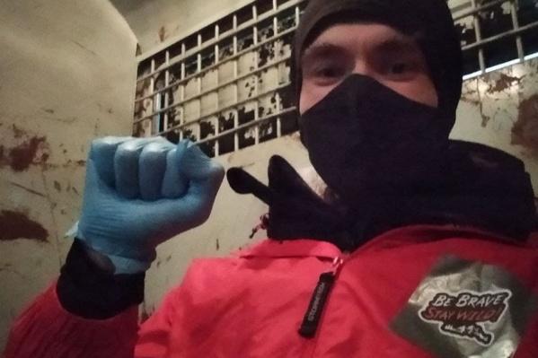 Депутат вечером 23 января совершил вояж по Волгограду в автозаке