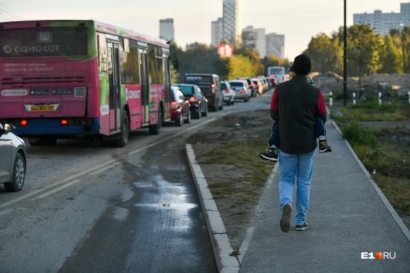 Мы выяснили, как живет Широкая Речка, где транспорт двигается медленнее пешеходов