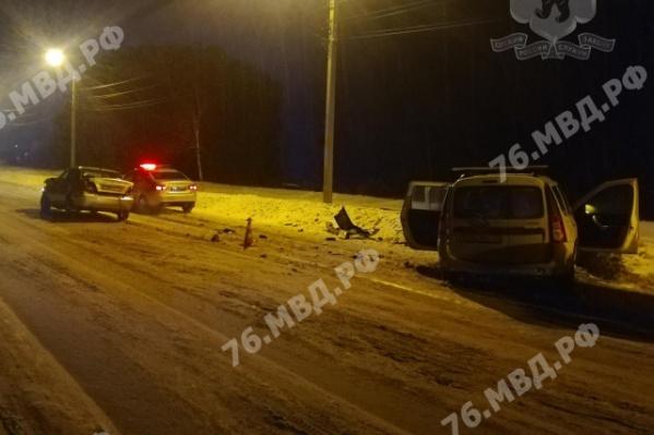 Авария произошла вечером 18 февраля