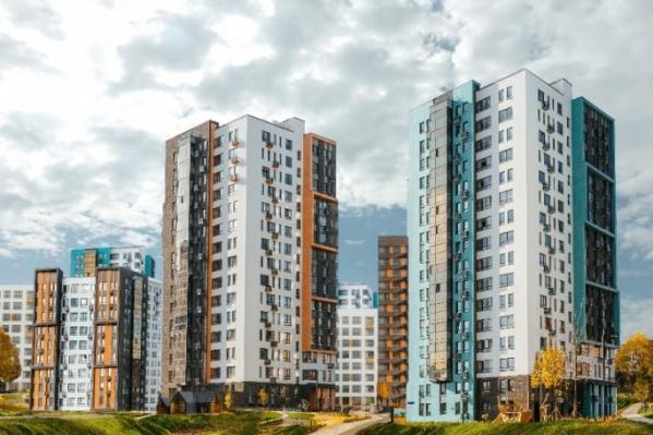 Проект застройки нового микрорайона включает в себя семь многоэтажек. Вот как они будут выглядеть