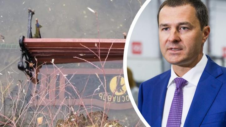 «Не могу быть хорошим мэром»: Владимир Волков в Telegram-канале сравнил себя с дворником