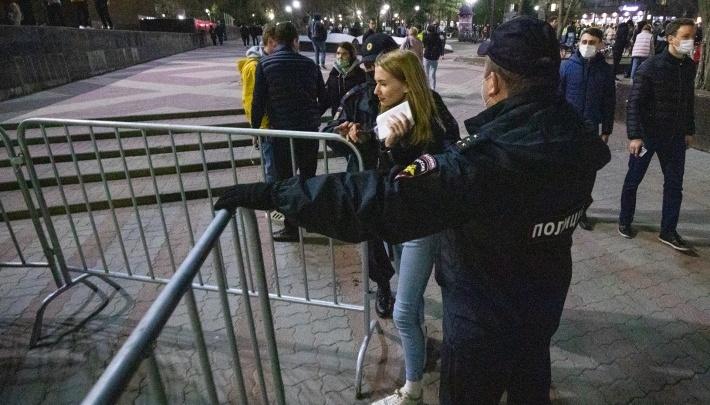 В Ростове после акции протеста арестовали восемь человек