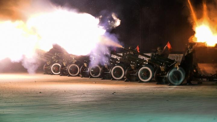В Екатеринбурге 23 февраля военные устроят стрельбу из пушек