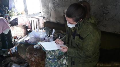 В Самарской области во время пожара в квартире погибли три человека