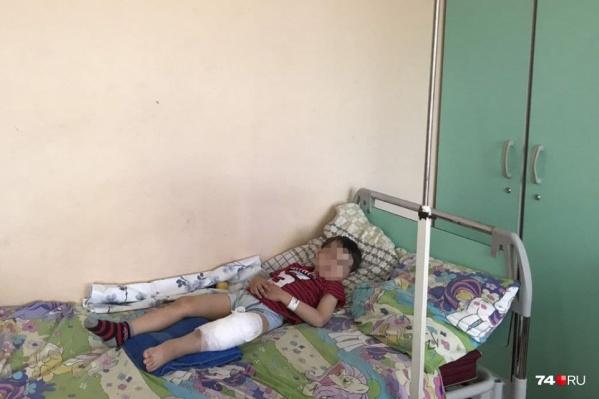 Мальчику потребовалась операция в областной детской больнице