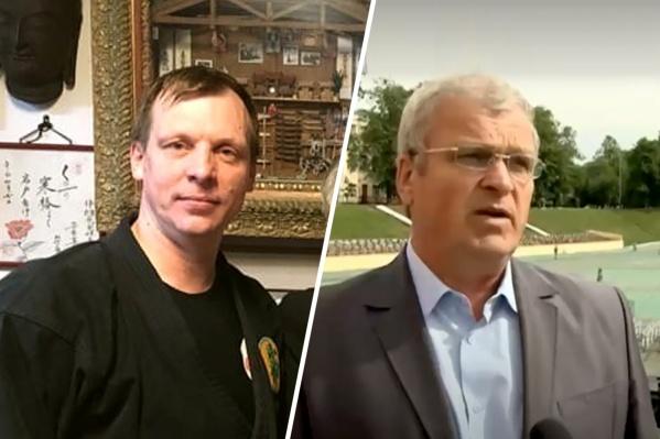Слева — тренер Алексей Локанов, справа — директор спортшколы Николай Богачев, которому не нравилось направление