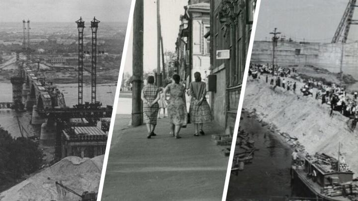 Стройки и спорт. Каким был город Горький в 1960-е годы