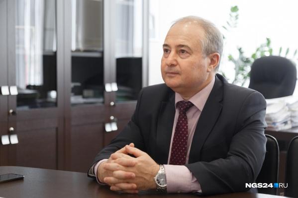 Борис Немик — министр здравоохранения Красноярского края с июня 2019 года
