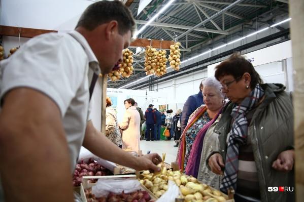На ярмарке можно будет найти фермерские продукты из Пермского края
