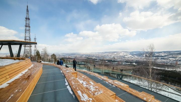 «Не сопка, а сортир»: блогер Илья Варламов раскритиковал новую смотровую в Красноярске