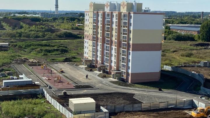 В мэрии Кемерова назвали сроки сдачи первого дома в новом микрорайоне