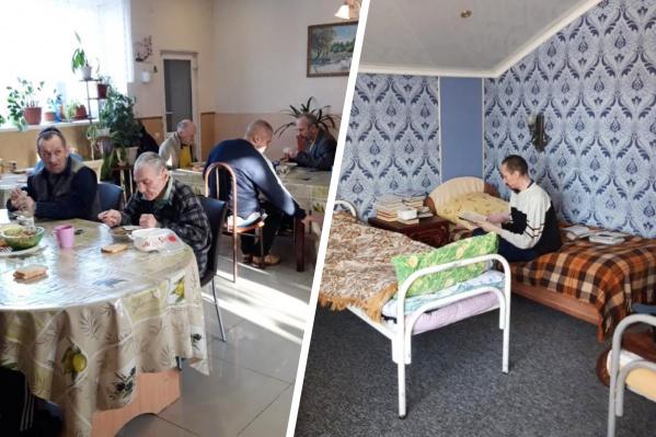 Так внутри выглядел пансионат на улице Рябиновой. Здесь было много людей из Свердловской области, меньше — из Тюменской области