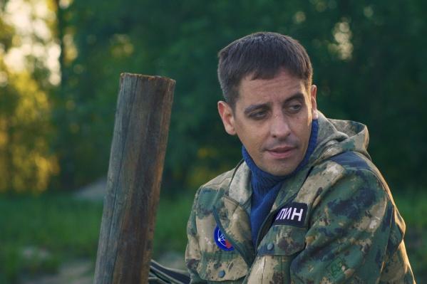 Павел Поляков из «Красного факела» играет одну из главных ролей в фильме «Гигантская флуктуация»