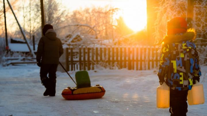 Морозы сохраняются: в какие дни в Архангельске детям можно не ходить в школу
