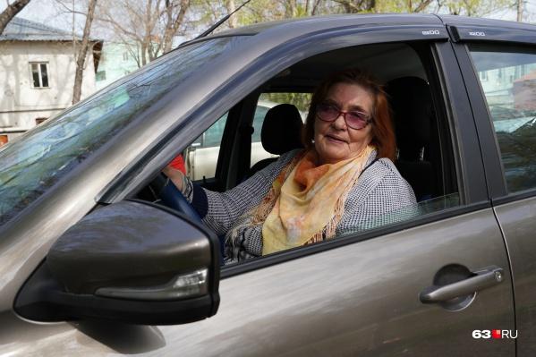 Пелагея Александровна за рулем почти 50 лет