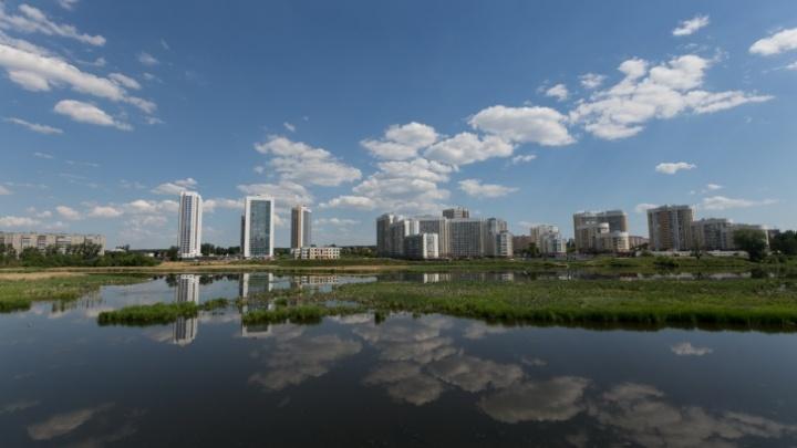 Квартал на набережной: где строится Новый Екатеринбург и что его связывает со старым