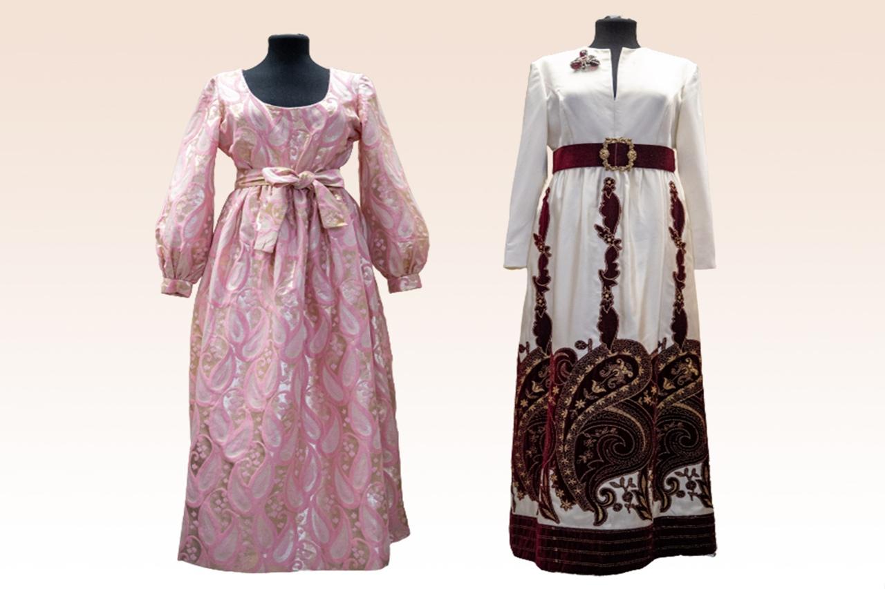 Платья созданы Оскаром де ла Рента — этот модельер широко известен в Америке
