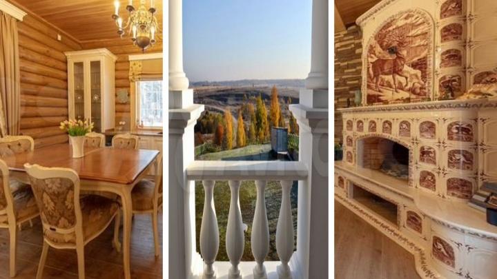 С каминами и бассейнами: как выглядят самые дорогие дома в районах Ярославской области