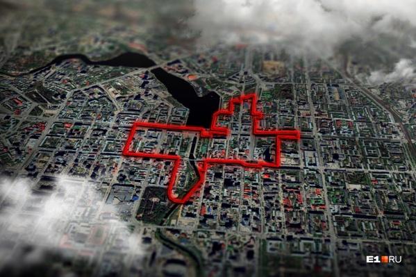 Длина Красной линии 6,5 км. На пути туристического маршрута можно сделать 35 остановок
