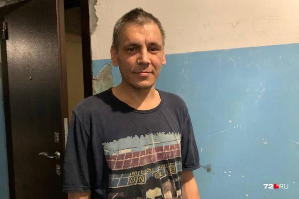 Сергей Муравьев, как оказалось, недавно освободился из ИК-2