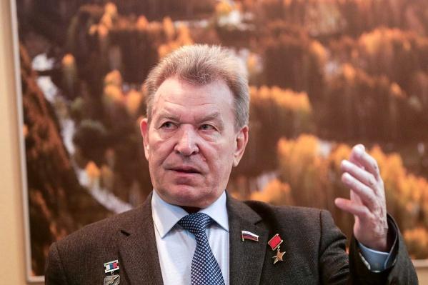 Николай Антошкин родился и учился в Башкирии