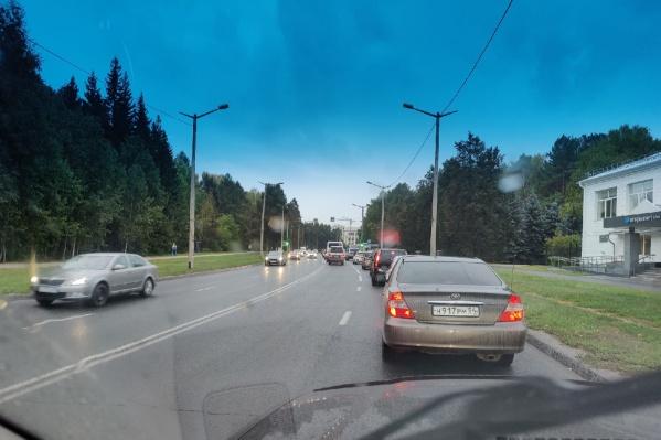 Светофоры теперь работают в трехфазном режиме