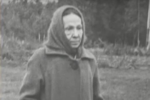 Ольга Александровна в последние годы жизни