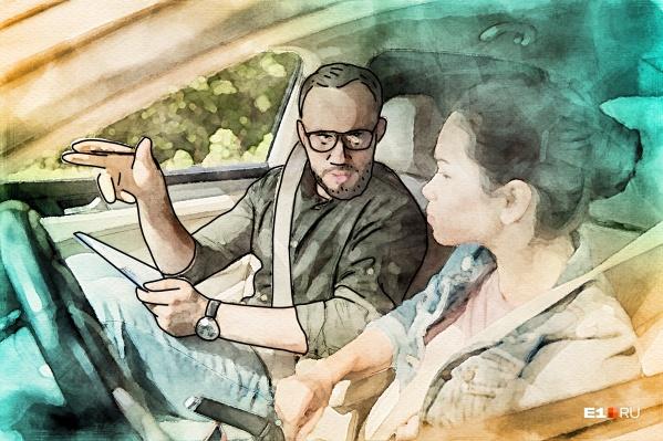 Автоинструктор уважительно относится к тем, кто права купил, но всё равно пошел учиться