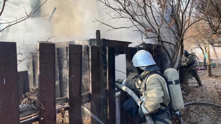 В Волгоградской области мужчина сгорел в кузове неисправного грузовика