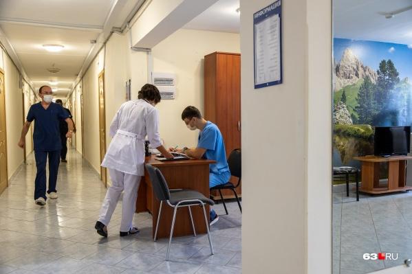 """Первых пациентов врачи смогут принять в новом инфекционном корпусе уже в сентябре <nobr class=""""_"""">2023 года</nobr>"""