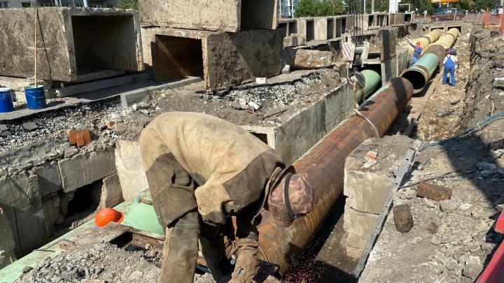 Коммунальщики Кургана объяснили, при каких условиях в городе станет меньше раскопок