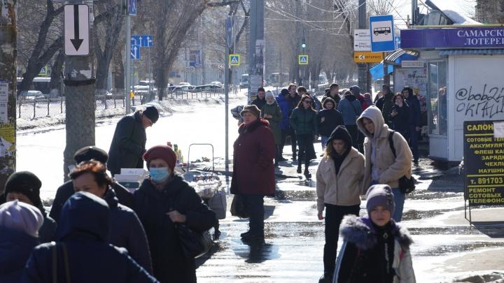 В Самарской области потеплеет до +16градусов