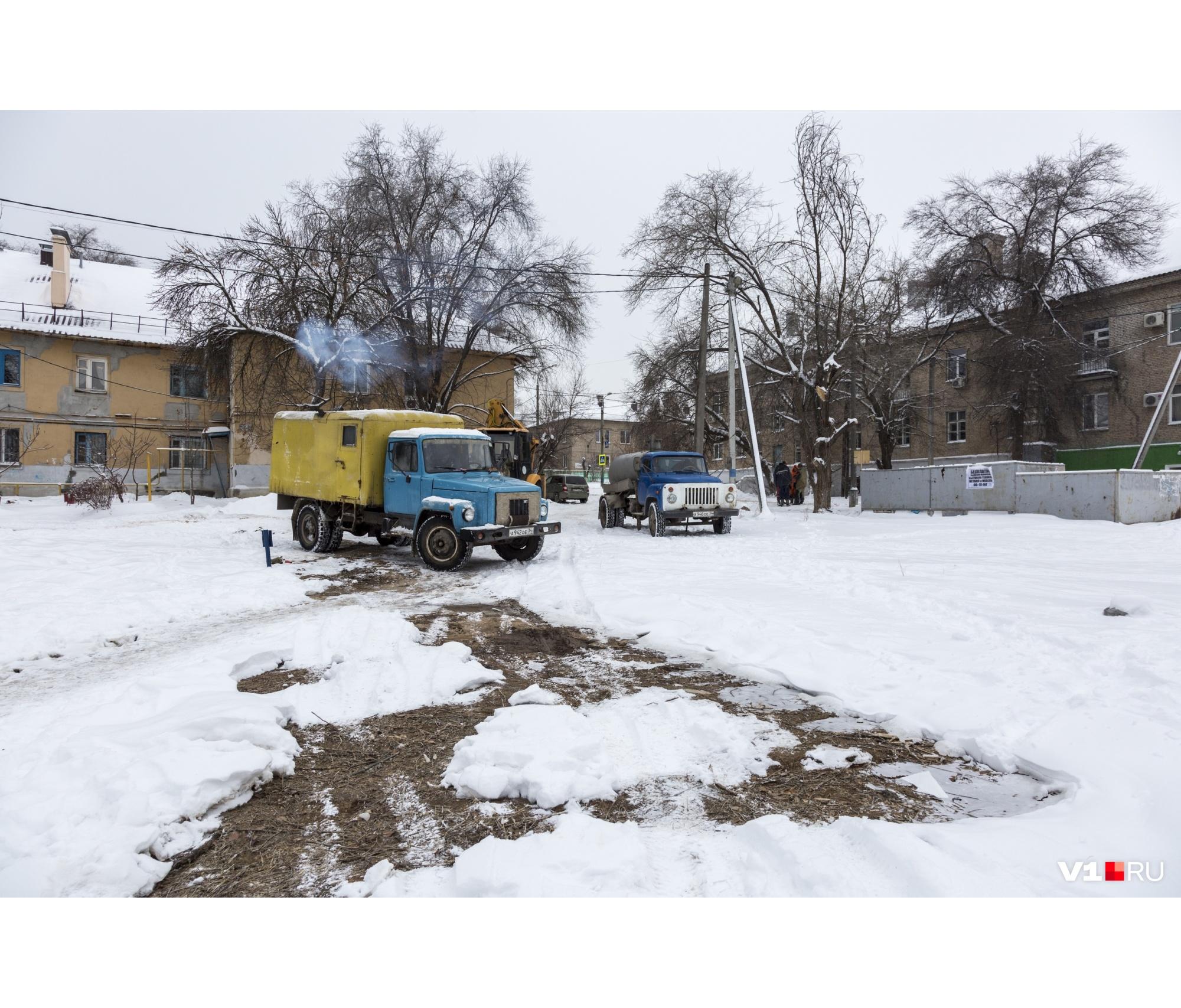 Вчера бригаду нашли в Красноармейском районе