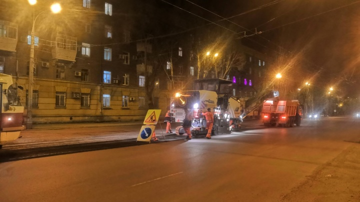 На проспекте Кирова срезали асфальт