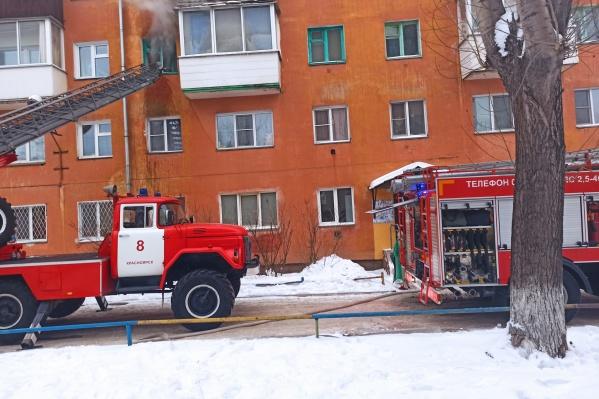 Пожар произошел в квартире лежачей пожилой женщины — она погибла