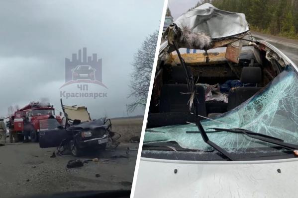 Аварии произошли на разных участках одной и той же районной дороги