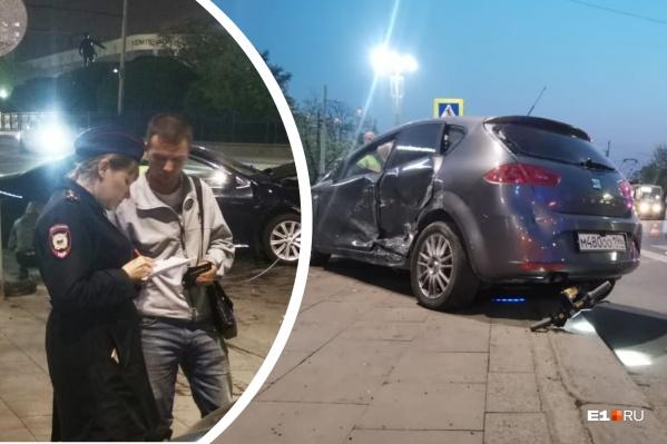 Суд отказался арестовывать водителя, влетевшего в толпу пешеходов в центре Екатеринбурга