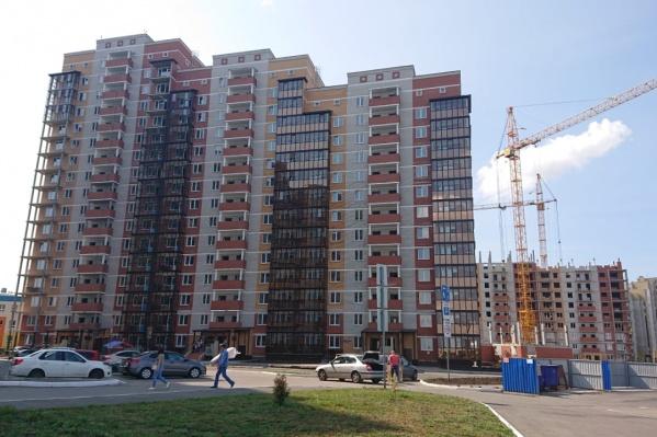 По проекту в микрорайоне будет пять таких домов