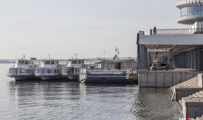 Вода пришла: в Волгограде возобновили рейсы речных трамвайчиков до Культбазы