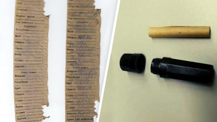 Останки солдата из Каменки нашли в Ленинградской области — что было в его смертном медальоне