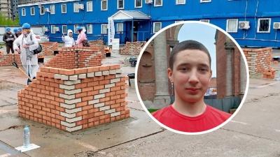 Архангелогородец стал лучшим студентом-каменщиком на конкурсе в Санкт-Петербурге