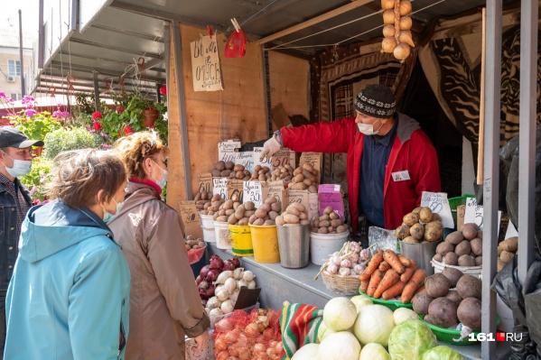 Год назад купить картошку можно было еще за 24 рубля