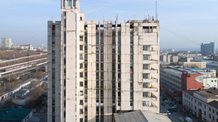 В Волгограде вновь пытаются продать аварийный Дом печати