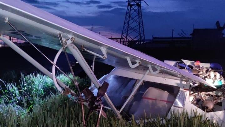 В Ростовской области жестко приземлился самолет. Пострадал пилот