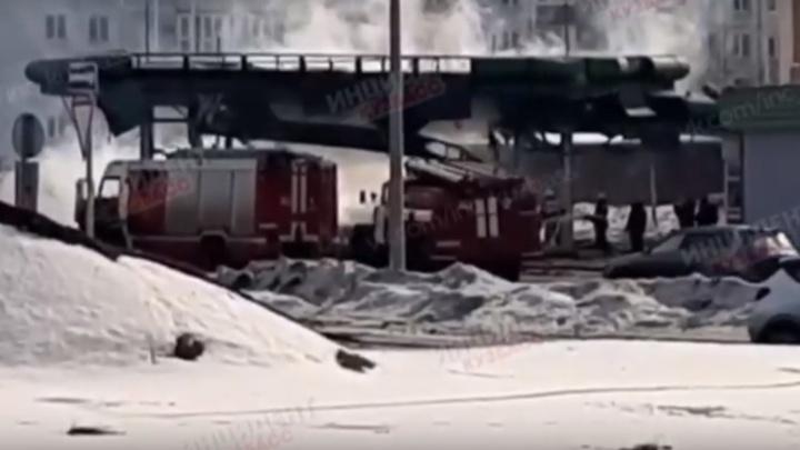 «Хлопнуло так, аж присели»: в Новокузнецке взорвалась автозаправка