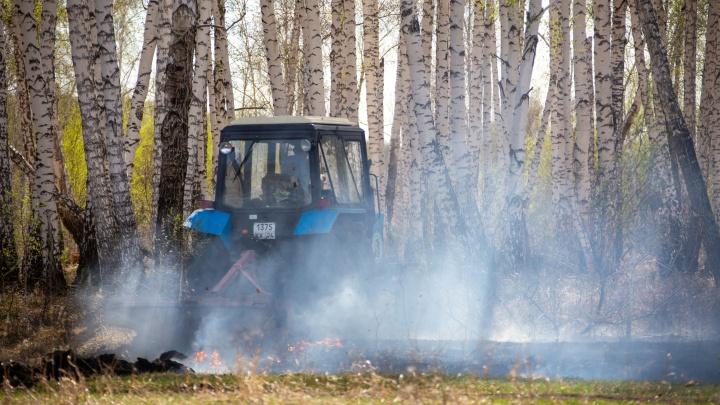 В Югре МЧС прогнозирует повышение класса пожарной опасности. Населенным пунктам угрозы нет